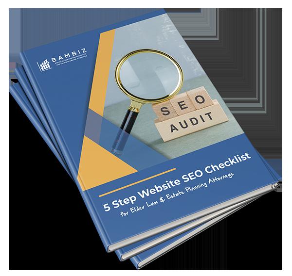 5 Step Website SEO Checklist