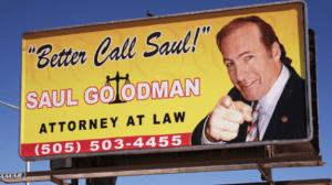 Better call Saul Elder Law billboard