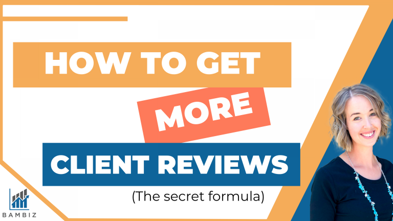 How to Get More Client Reviews