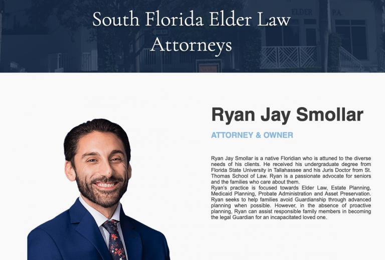 Sample Attorney Bio Elder Law Marketing